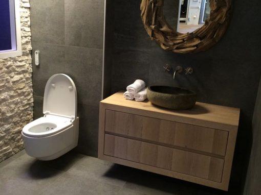 Showroom badkamer bij Bakker tegels & badkamers