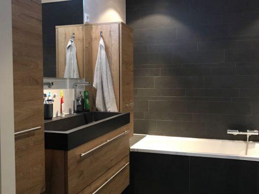 Badkamer betegeld